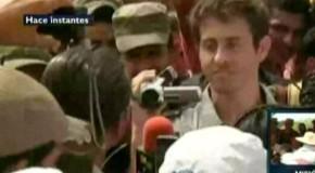 Liberado en Colombia el periodista francés Roméo Langlois