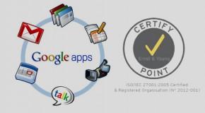 Google Apps for Business se adjudica la certificación ISO 27001