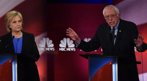 Hillary Clinton y Bernie Sanders se lanzan duros ataques en el debate