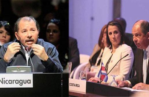 "Presidente de Costa Rica: ""triste"" que Nicaragua invierta en armas"
