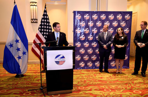 Coctel de agradecimiento por visita de senador Marco Rubio