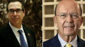 Donald Trump elige a dos nuevos funcionarios