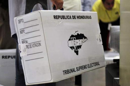 Comienza distribución del material electoral para las primarias en Honduras