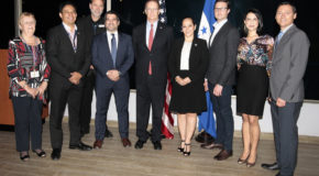 AmCham Honduras realiza coctel para empresarios de Estados Unidos
