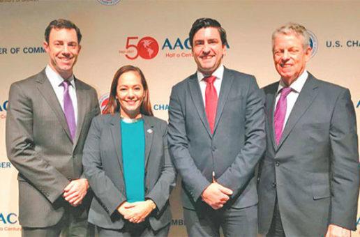Presidenta de Amcham Honduras Elegida  Vice Chair del Consejo Directivo De La AACCLA